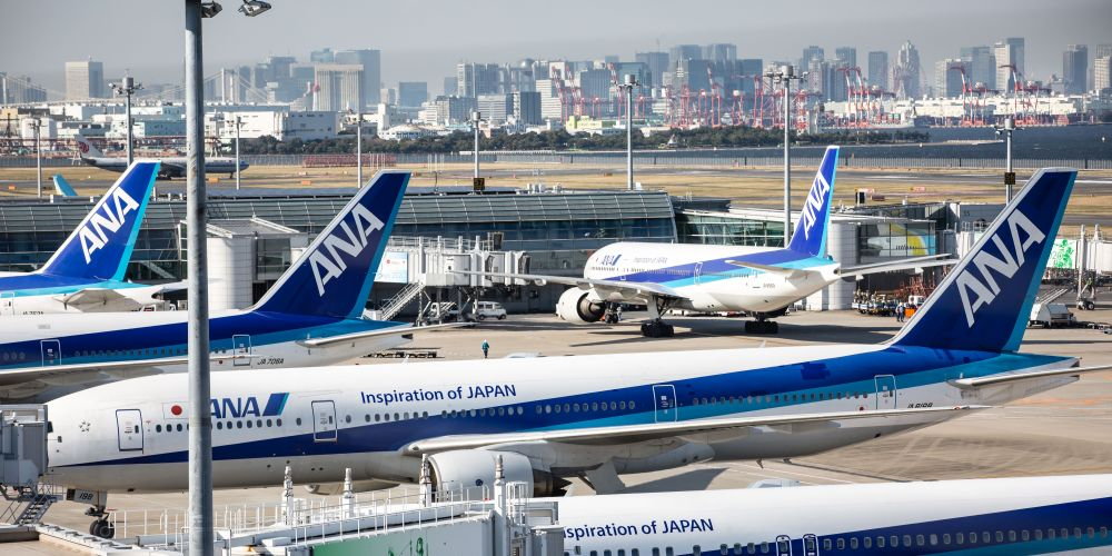 All Nippon Airways is looking to bring direct flights from Perth to Japan. Picture: Christopher Jue/Getty Images