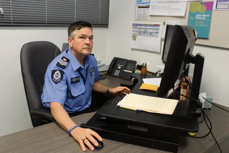 Senior Sergeant Darryl Brandis.