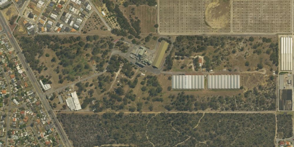 The Ingham's site on Wanneroo Road in Sinagra. Picture: Spookfish