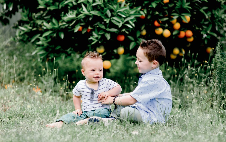 Elliot and Isaac Bicker. Picture: Tracy Bicker