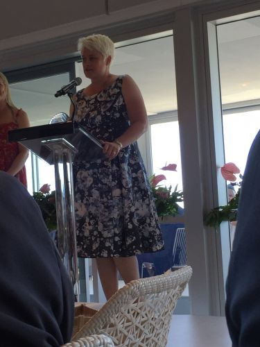 Dr Judith Medd won the Thoroughbred Welfare Award at today's Ladies in Racing awards