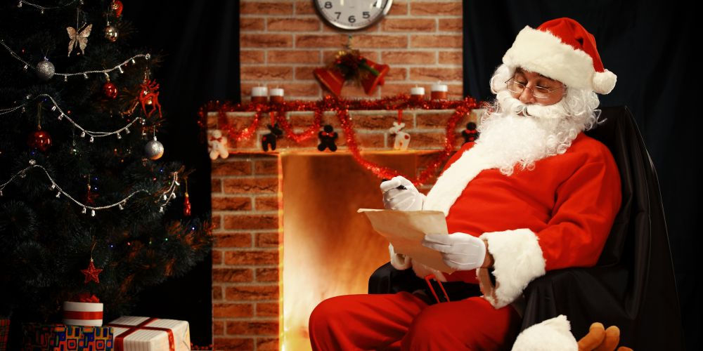 Kids have up until December 14 to send Santa a letter via Australia Post's Santa Mail and receive a reply.
