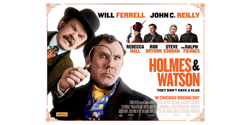 Win tickets to Holmes & Watson