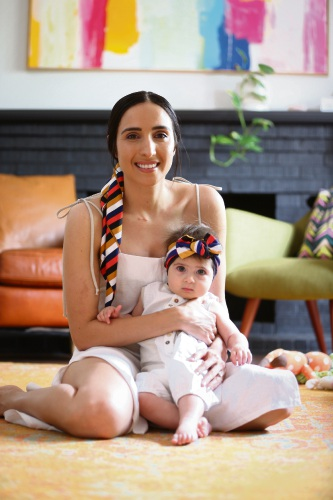 Alfred Cove designer Jenna Pruyn launches baby wear collection following birth of her daughter