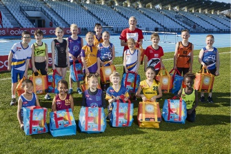 Sports gear on the rise at Joondalup Little Athletics Centre thanks to Coles grant