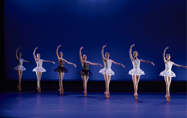 The West Australian School of Dance students take to the stage in Victoria.