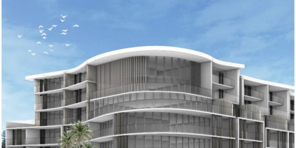 An artist's impression of the proposed Ocean One development in Cottesloe.