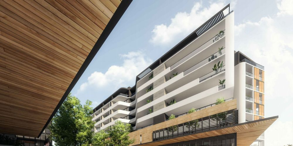 An artist's impressions of the proposed $42 million development for Endeavour Road, Hillarys.