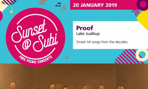 Sunset@subi – Proof