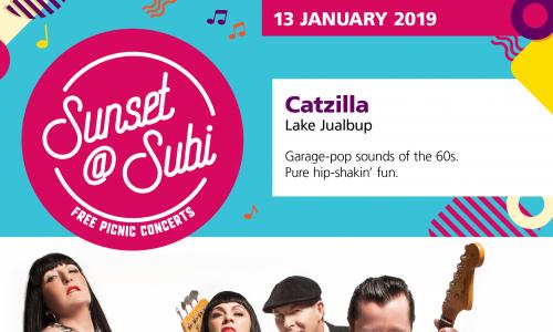 Sunset@subi – Catzilla