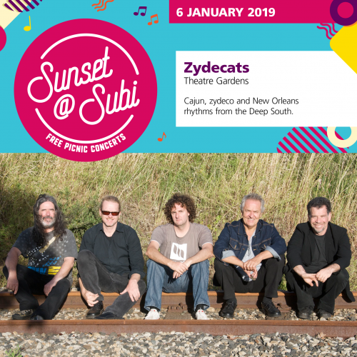 Sunset@subi – Zydecats