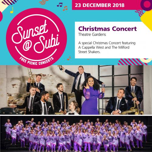 Sunset@subi – Christmas Concert