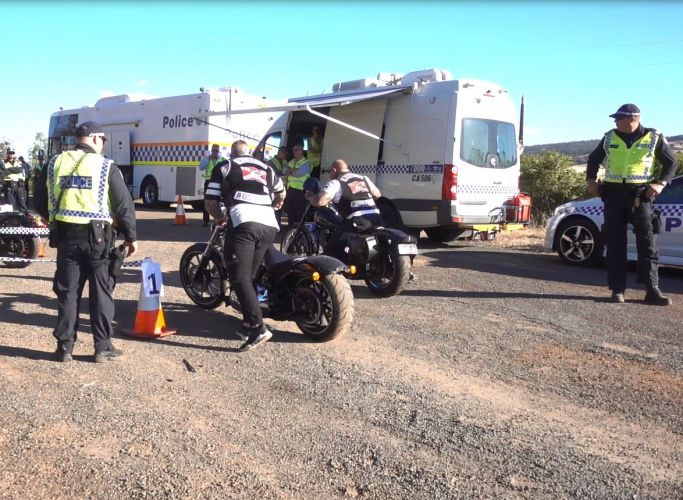 Bikies blitz south of Perth sees one charged with steroids