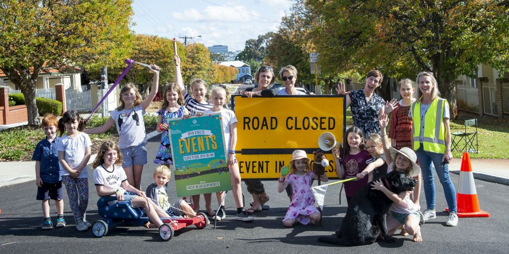 Rae Street Play Street helped the City of Vincent test their new Open Streets event system. Picture: Supplied.