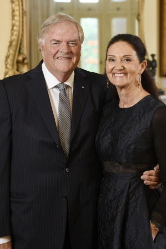 WA Governor Kim Beazley with his wife Susie Annus.