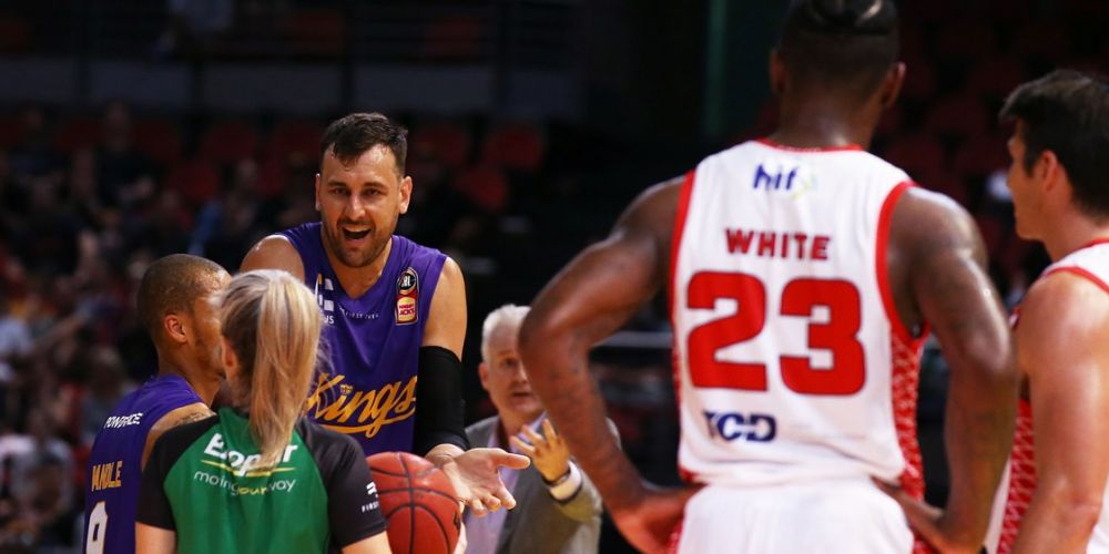 The Andrew Bogut-Perth Wildcats hostilities resume this Friday night. Picture: Getty Images