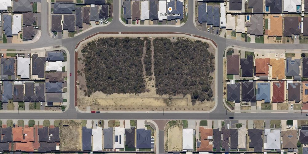 The City of Wanneroo has been granted a clearing permit for Hardcastle Park in Landsdale. Picture: Spookfish