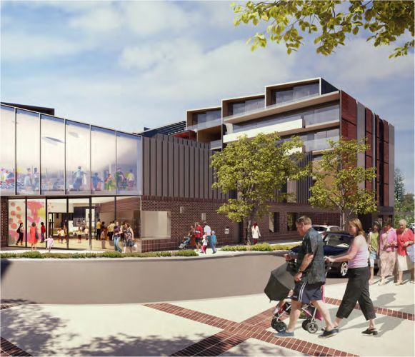 The Queenslea aged care development has been approved for Claremont on the Park.