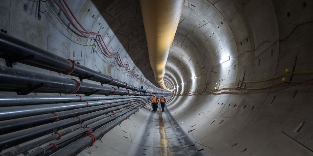 Tunnelling on the Forrestfield-Airport Link.