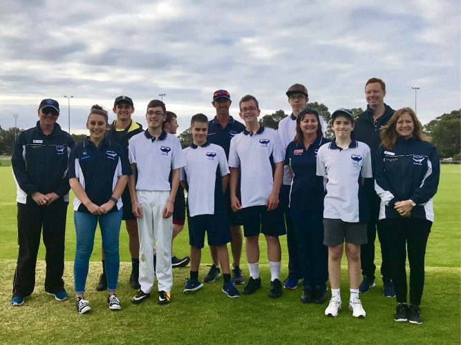Quinns Rocks Junior Cricket Club is running a teenage integrated cricket program for children with disabilities.