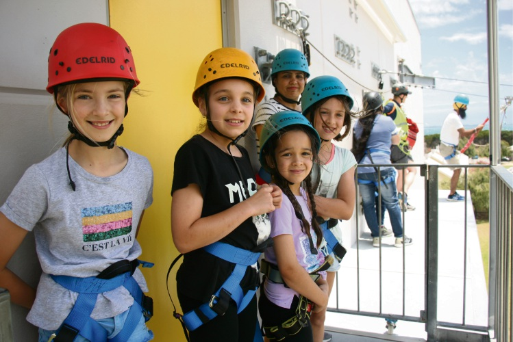 Kids enjoying activities at the Woodman Point Recreation Camp Community Open Day.