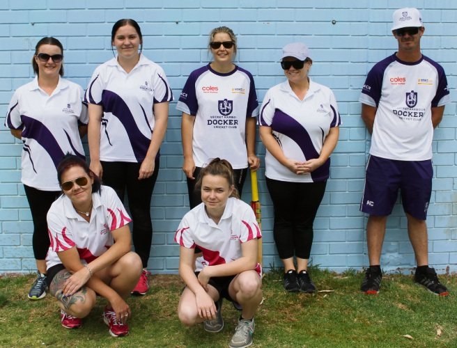Women's cricket booming at Secret Harbour Dockers Cricket Club