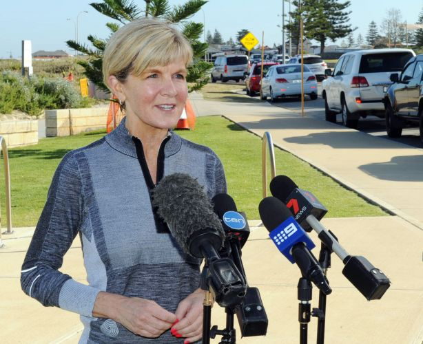 Julie Bishop is joining the crew of Wild Oats X for the Sydney to Hobart race in her summer break.