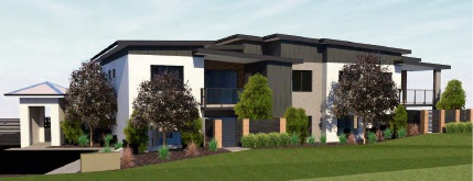 Artist impressions of the proposed units at 9 and 11 Ruthven Place, Duncraig.
