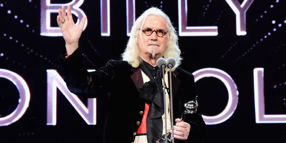 Billy Connolly in 2016. Photo: Getty