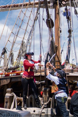Pirate fun at East Fremantle Yacht Club