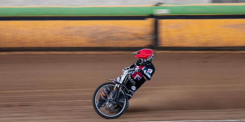 West Aussie and UK-based Tai Woffinden on his way to his maiden WA 500cc solo title. Picture: Woza's Photography