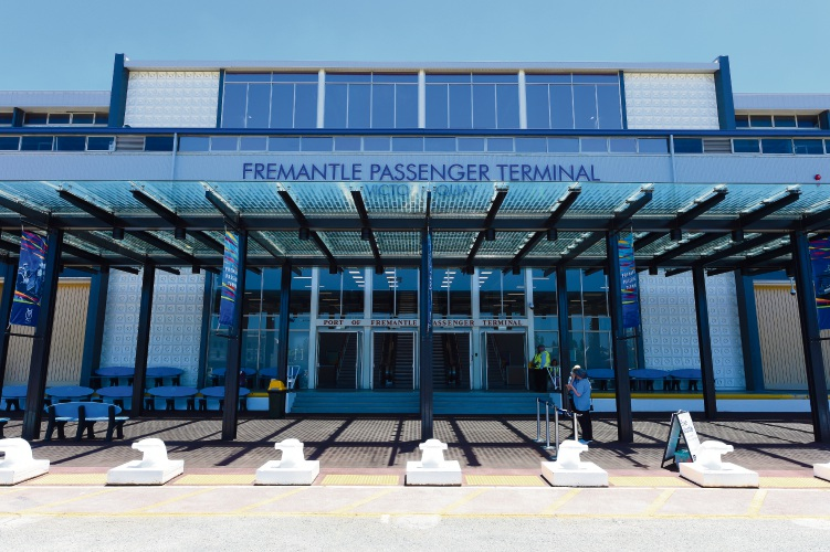 Fremantle passenger terminal upgrades unveiled