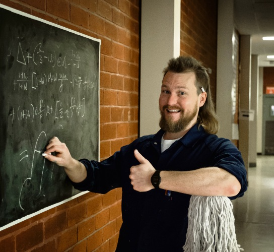 Brett Blake is heading back to Perth to talk about his struggles in school in Bogan Genius.