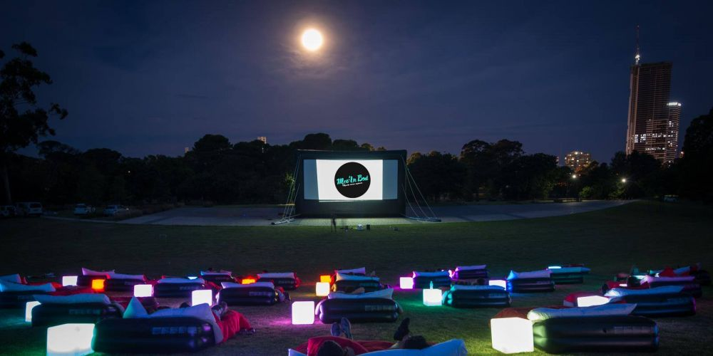 Mov'in Bed outdoor cinema experience coming to Perth in the spring