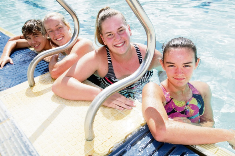 Victoria Park Swimming Club swimmers aim for nationals