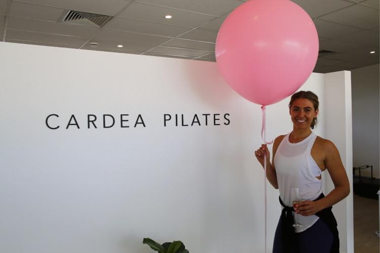 Cardea Pilates owner Emma Anderson