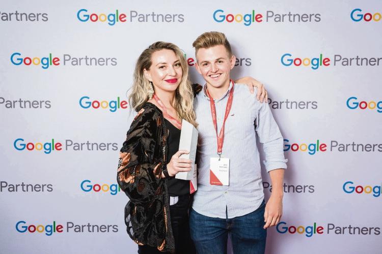 Bang Digital Managing Director Renae Lunjevich and Head of Digital Jack Kennedy.
