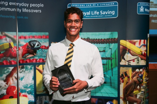 TJ Chong Sue, of UWA/West Coast Swim Club and the Fremantle Surf Life Saving Club (SLSC), was named Overall Male Lifesaver of the Meet at the competition.