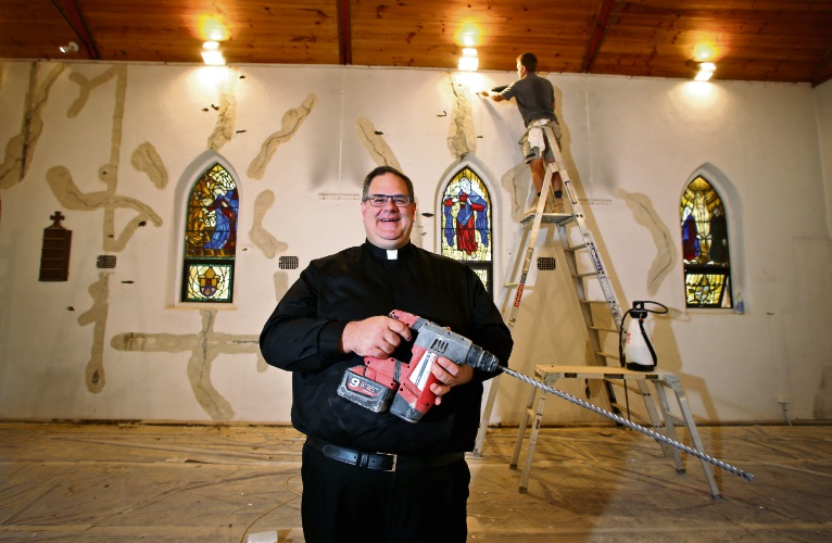 Darlington: Father Chris turns to crowdfunding to raise funds for historic church restoration