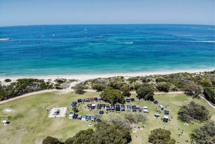 Markets by the Sea will return to Hillarys on February 3. Pictures: Ryan Lai