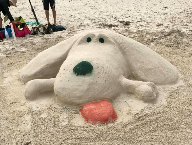 The annual Ledge Point Sandcastle Competition returns on January 27.