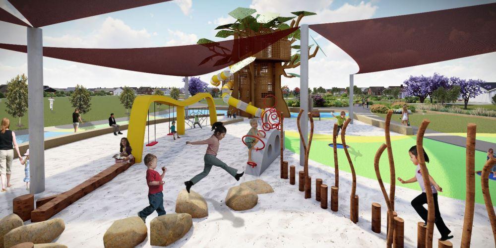 an artist impression of the new Hilbert park.