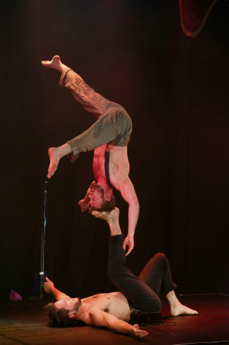Head First Acrobats premiere new show Railed at Fringe World