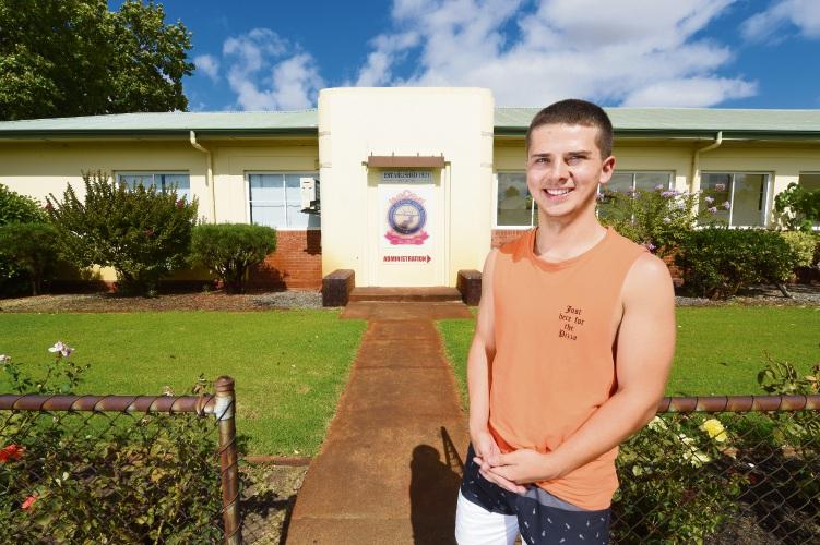 Pinjarra Senior High School student Harry Bidewell got an ATAR score of 98.7.