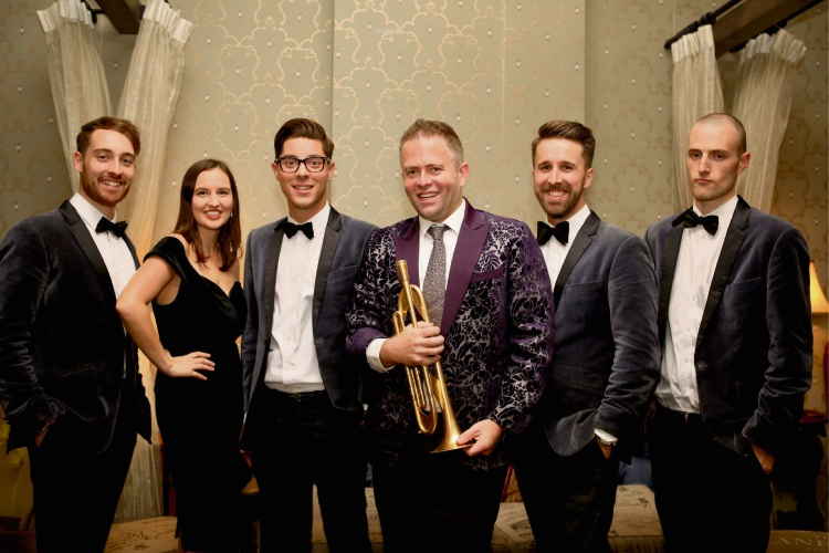 Adam Hall and The Velvet Playboys.