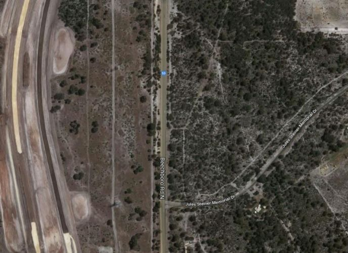 The intersection between Beechboro Road North and Jules Steiner Memorial Drive in Whiteman. Credit: Google maps.