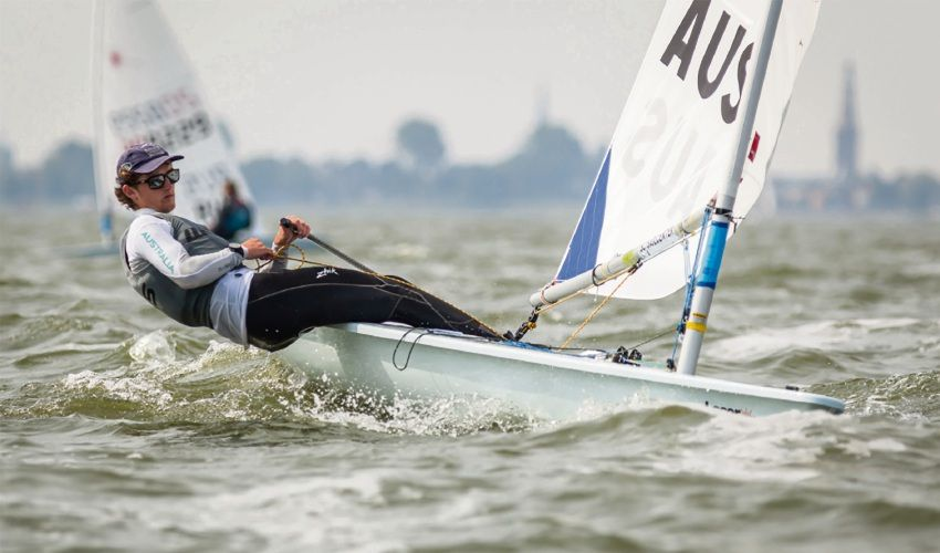 Sailor Zac Littlewood. Picture: Sailing Today