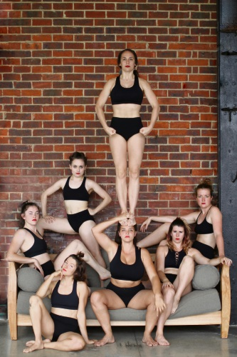 The all-female circus troupe Yuck Circus take a 'tongue in cheek' look at women's issues with their award-winning comedy circus act.