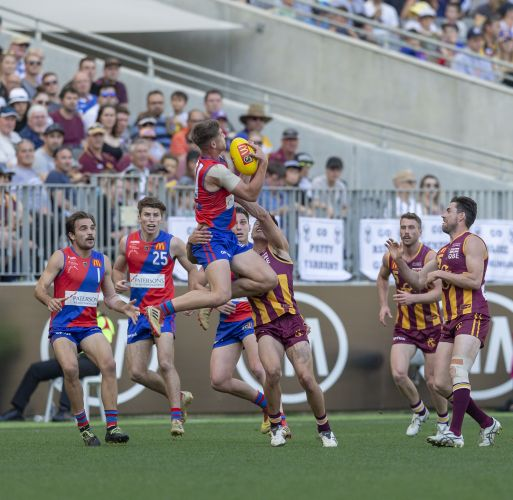 West Perth and Subiaco in last year's WAFL grand final. Picture: Dan White