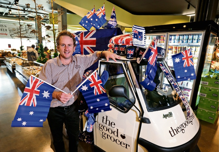 Manager Jake Brindle expects The Good Grocer IGA in South Perth to be extremely busy on Saturday. Picture: David Baylis